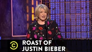 Roast of Justin Bieber - Martha Stewart - Changing Lives for the Better