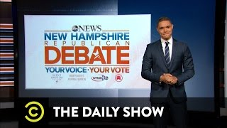 The Daily Show - Facing Off at the GOP Debate