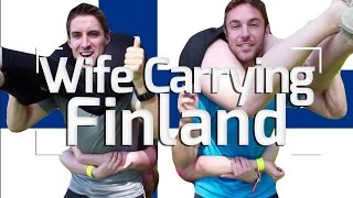 Finland Wife-Carrying Championships!!!