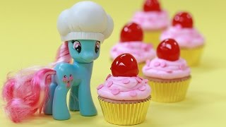 MY LITTLE PONY CUTIE CUPCAKES ft Austin Mahone! - NERDY NUMMIES