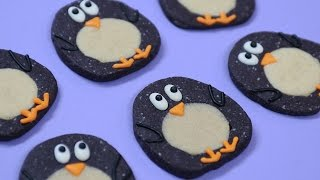 AWKWARD PENGUIN COOKIES ft Megan Nicole - NERDY NUMMIES