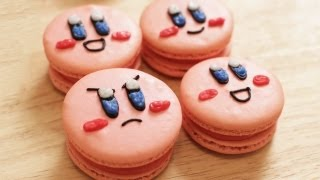 HOW TO MAKE KIRBY MACAROONS - NERDY NUMMIES