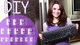 DIY Keyboard Magnets
