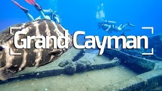 CAYMAN ISLANDS SCUBA DIVE SHIPWRECK