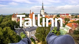 ROOFTOP ADVENTURE IN TALLINN, ESTONIA