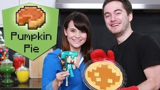 MINECRAFT PUMPKIN PIE ft. CaptainSparklez! - NERDY NUMMIES