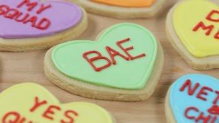 VALENTINES HEART COOKIES 💕