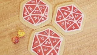 D20 COOKIES WITH FELICIA DAY - NERDY NUMMIES