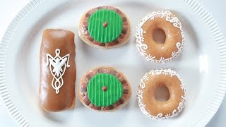 LORD OF THE RINGS DONUTS - NERDY NUMMIES