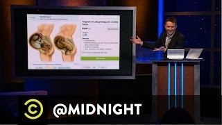 Cat Card Censorship - @midnight with Chris Hardwick
