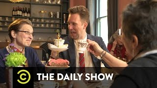 The Daily Show - Britain's Non-Issues - Vulgar Insult