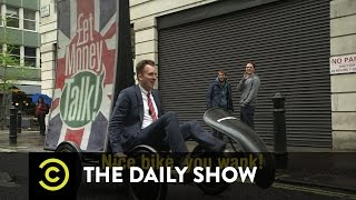 The Daily Show - Democracy in the U.K. - Road To...Wait That's Where the Prime Minister Lives