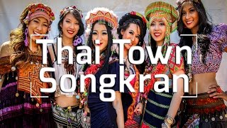 Thai Town in Hollywood: Songkran 2014