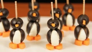 SOCIALLY AWKWARD PENGUIN APPETIZERS- NERDY NUMMIES