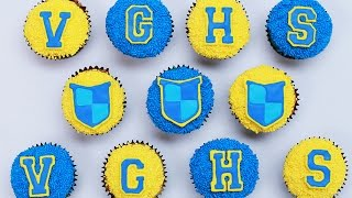 VIDEO GAME HIGH SCHOOL CUPCAKES - NERDY NUMMIES