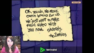 PLANTS VS ZOMBIES ENDING MUSIC VIDEO