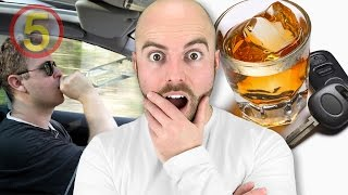 SHOCKING Facts About Drunk Driving!-Facts in 5