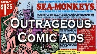 Top 10 Outrageous Comic Book Advertisements