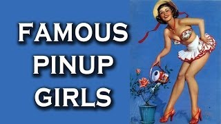 Top 10 Famous Pinup Girls Posters