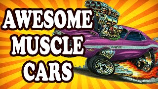 Top 10 Classic Muscle Cars