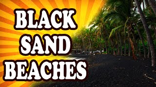 Top 10 Black Sand Beaches — TopTenzNet
