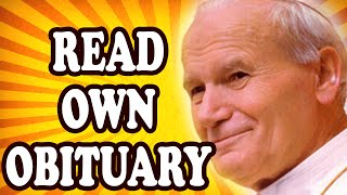 Top 10 Celebrities Who Read Their Own Obituary