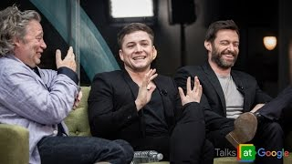 "Hugh Jackman, Taron Egerton, Dexter Fletcher: ""Eddie the Eagle"" 