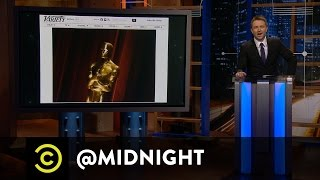 Worst Red Carpet Questions - Golden Power Trinket - @midnight with Chris Hardwick