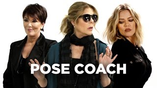 The Secret Behind Every Actress's Red Carpet Pose (with Rita Wilson, Kris Jenner & Khloe Kardashian)