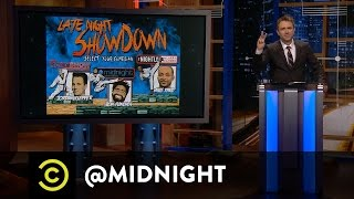 Jordan Klepper, Ron Funches - Late Night Showdown - @midnight with Chris Hardwick