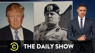 The Daily Show - Donald Trump's Fascist Week
