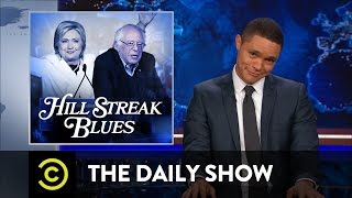 The Daily Show - Hillary Clinton Feels the Bern
