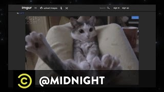 Are You Ready for Some Fuzzball?! - What a F**king Idiot - @midnight with Chris Hardwick