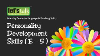 Conflict management - Personality development skills Part 5 ( www.letstalk.co.in