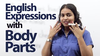 Learn English expressions with body parts - Free English (ESL) lesson