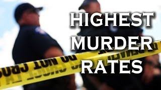 Top 10 US Cities You're Most Likely To be Murdered In