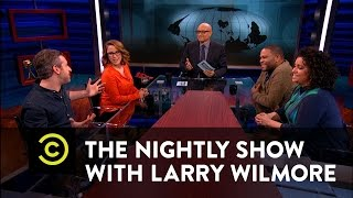 The Nightly Show - Drowning Dog vs. Drowning Stranger - Keep it 100