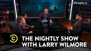 The Nightly Show - Panel - Donald Trump's Abusive Relationship with the Media