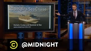 Conspiracy on the Conspira-Seas - Or Did It? - @midnight with Chris Hardwick