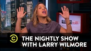 The Nightly Show - Women's History Month Report: Black Lady Sign Language
