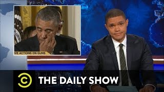 The Daily Show - President Obama Targets Gun Violence