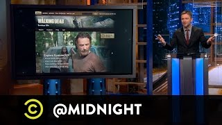 """Walking Dead"" Spoilers - It Rips Our G**damn Hearts Out - @midnight with Chris Hardwick"