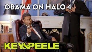 Key & Peele - Obama's Anger Translator - Obama on Halo 4