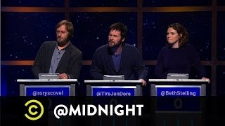 Rory Scovel, Jon Dore, Beth Stelling - Crash at My Place - @midnight with Chris Hardwick