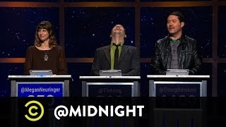 Megan Neuringer, Seth Herzog, Doug Benson - Get A Room - @midnight with Chris Hardwick