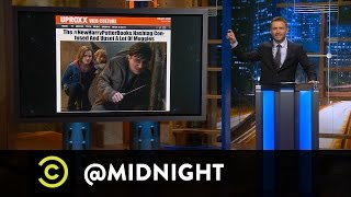 Jen Kirkman, Tom Lennon and Ron Funches - Expecto Pa-Troll-'Em - @midnight with Chris Hardwick