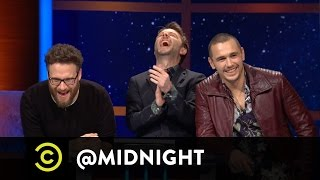Seth Rogen, James Franco - Merry Christmas From the Shut-Ins - @midnight w/ Chris Hardwick