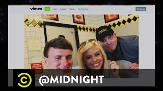 Jenna Elfman, Yassir Lester, Nick Thune - Rock the Waffle House - @midnight with Chris Hardwick