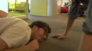 Jake and Amir: Push-Up Contest