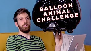 Balloon Animal Challenge: Darth Vader On The Toilet